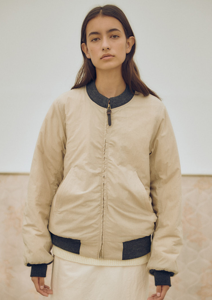 (SALE 30%)Via Alan wind breaker_beige