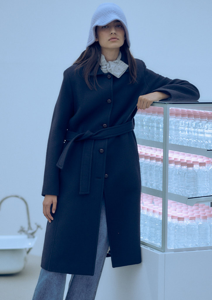 (SALE 30%)Via Jennifer single coat_navy
