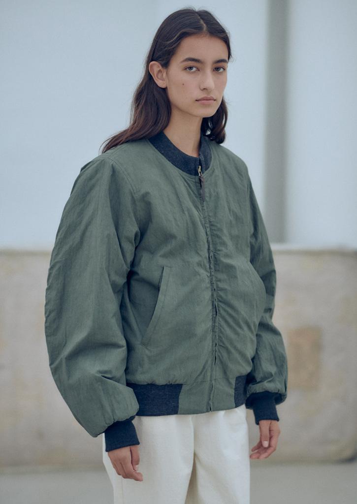 (SALE 30%)Via Alan wind breaker_khaki